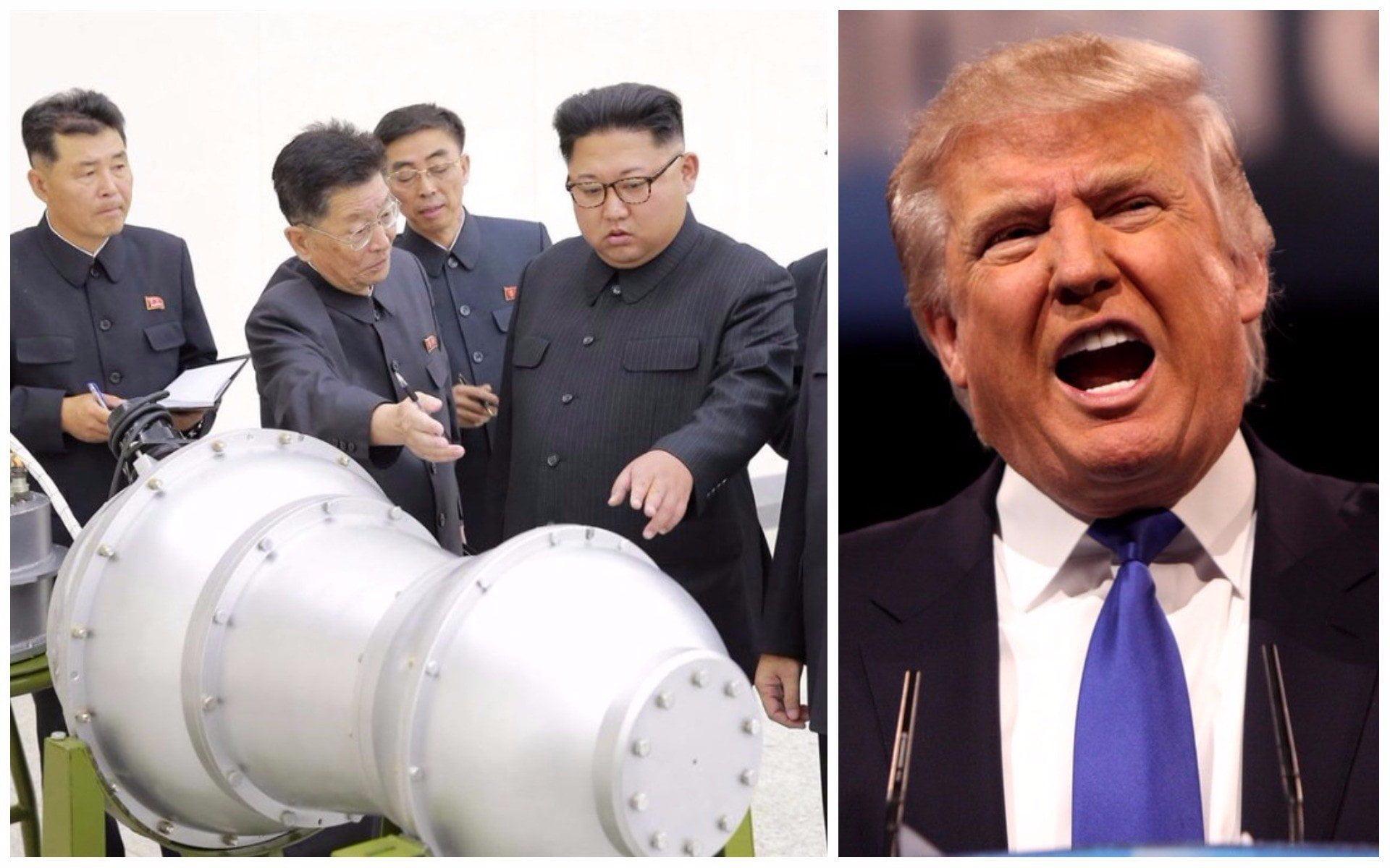 Bomba de Corea del Norte desata ira de Trump