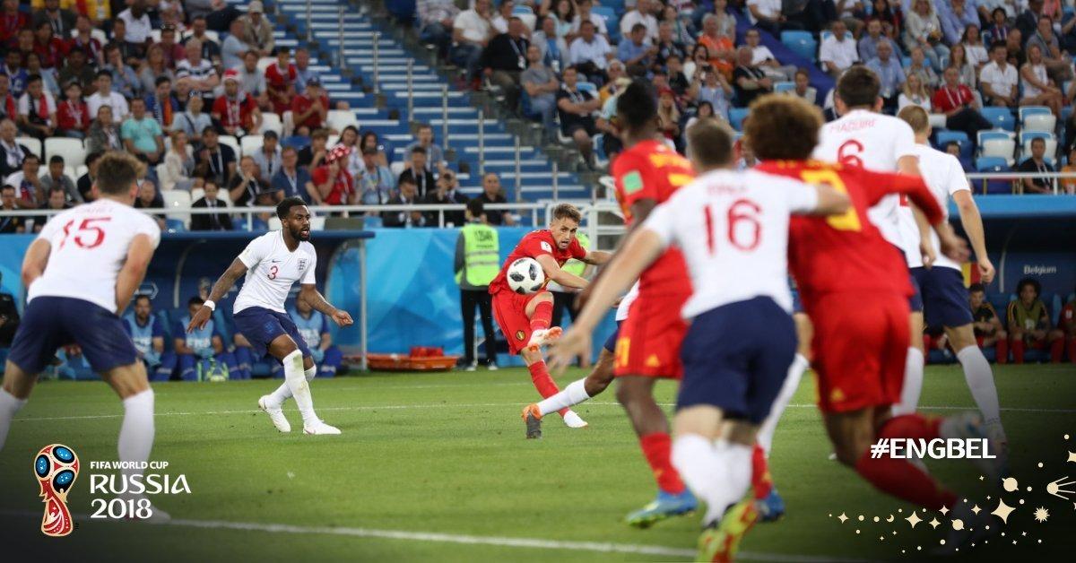 Gol de Bélgica
