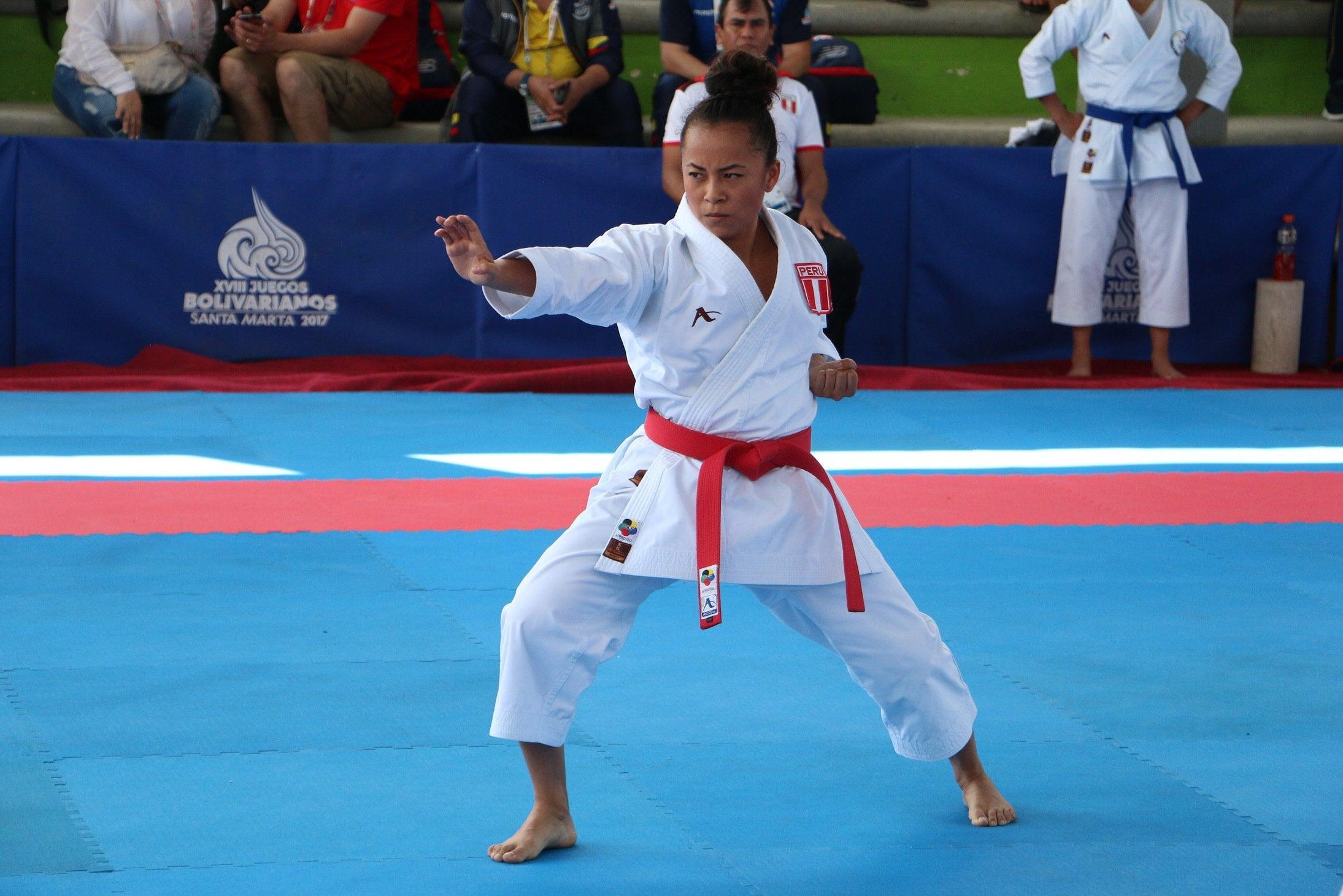 Karateka Ingrid Aranda peleará medalla en Panamericanos Lima 2019
