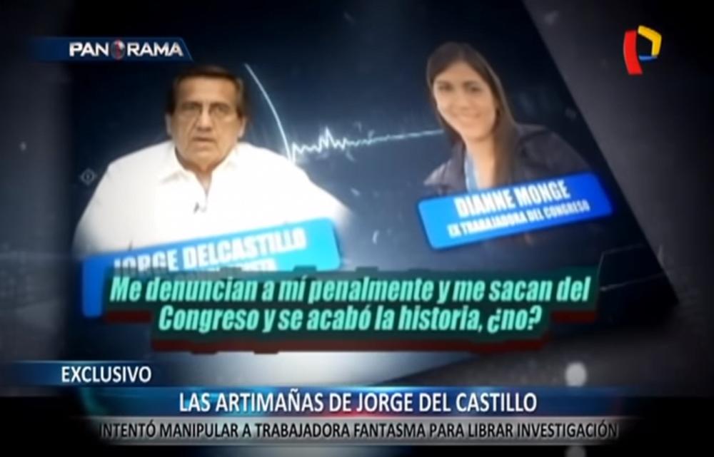 Audio explosivo de Jorge del Castillo