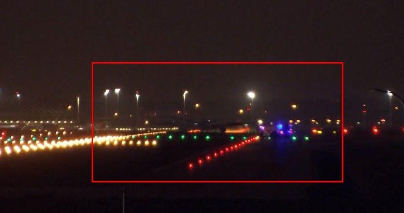Urgente: Avión de Air Canada aterrizó sin una rueda y un motor en Madrid