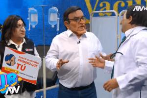 JB en ATV: Vea la divertida parodia del Vacunagate con Martín Vizcarra y Pilar Mazzetti