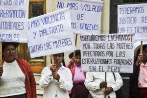 Sustentan denuncia penal contra Alberto Fujimori y exministros por caso esterilizaciones forzadas